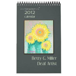 Las pinturas de Bettigee • Calendario 2012
