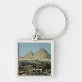 Las pirámides de Giza, c.2589-30 A.C., viejo reino Llavero Personalizado