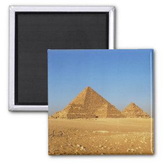 Las pirámides egipcias iman de frigorífico