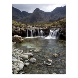 Las piscinas de hadas, isla de Skye Tarjetas Postales