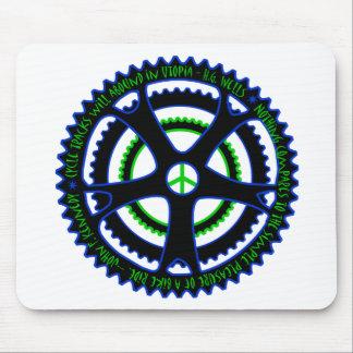 Las pistas para bicicletas abundarán en Utopía Alfombrillas De Ratones