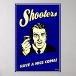 Las pistolas - tenga Niza una coma Póster