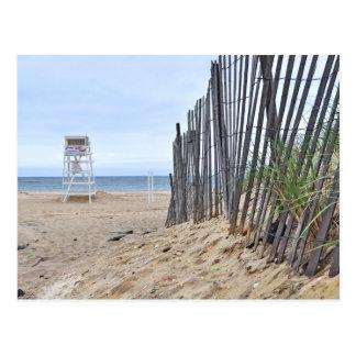 Las playas de la duna de arena de Montauk, NY Postales
