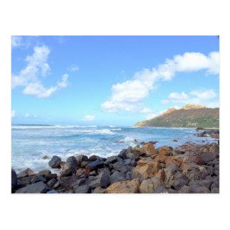 Las playas de Oahu Postales