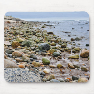 Las playas rocosas de Montauk Long Island NY Alfombrilla De Raton