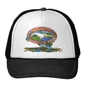 Las playas y el aceite paran la colección de la me gorras de camionero