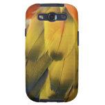 Las plumas coloridas Samsung encajonan Samsung Galaxy S3 Coberturas