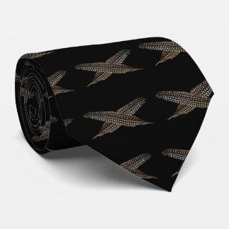Las plumas son símbolos de la ascensión espiritual corbata personalizada