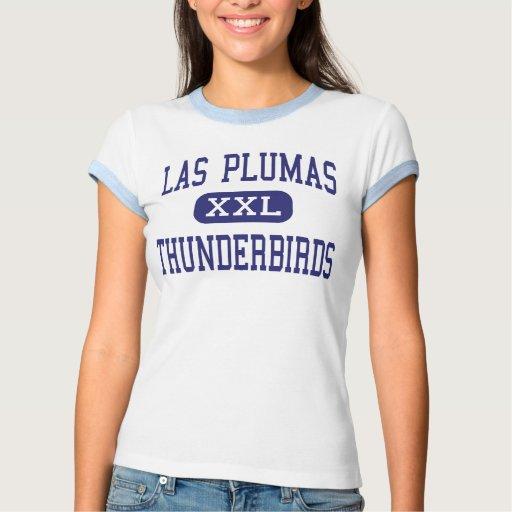 Las Plumas - Thunderbirds - alto - Oroville Playera