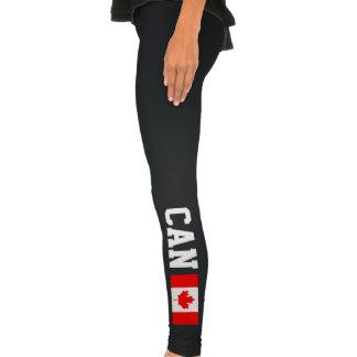 Las polainas canadienses de los deportes de la ban