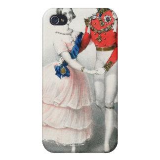 Las polcas celebradas de Jullien iPhone 4/4S Carcasas