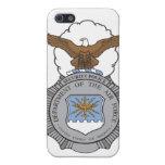 Las Policías de Seguridad de la fuerza aérea Badge iPhone 5 Cárcasa