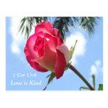 Las postales cristianas 1 amor del 13:4 del corazó