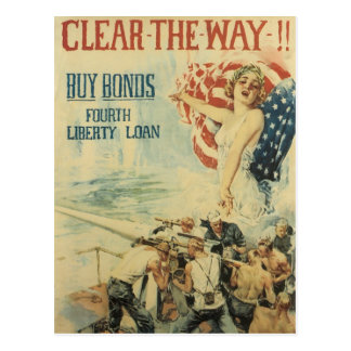 Las postales de la guerra, Pin del vintage suben