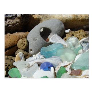 Las postales de Seaglass personalizan fósiles del