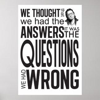 Las preguntas teníamos incorrecto impresiones