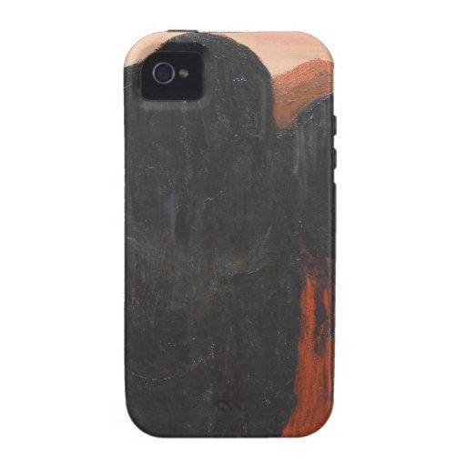 Las primeras ofrendas (surrealismo abstracto) iPhone 4 carcasas