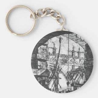 Las prisiones (placa IV) de Juan Battista Pirane Llavero Redondo Tipo Pin