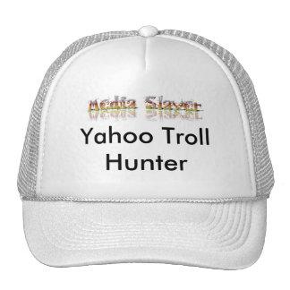 Las producciones del asesino de los medios, Yahoo  Gorras