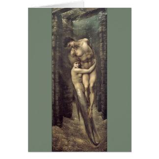 """""""Las profundidades del mar"""", por Edward Burne-Jone Felicitacion"""