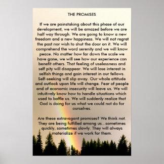 Las promesas póster