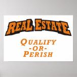 Las propiedades inmobiliarias - califique o fallez poster