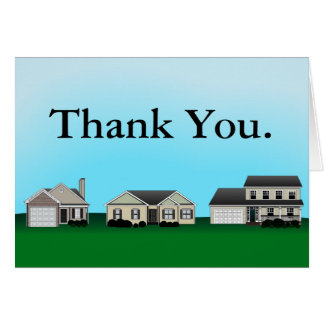 Las propiedades inmobiliarias le agradecen las not felicitación