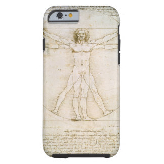Las proporciones de la figura humana funda de iPhone 6 tough