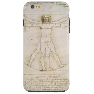 Las proporciones de la figura humana funda para iPhone 6 plus tough