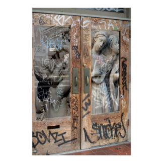 Las puertas póster
