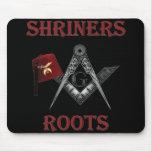 Las raíces de Shriners Tapetes De Ratón
