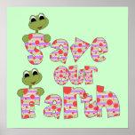 Las ranas ahorran nuestras camisetas y regalos de  impresiones