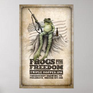 Las ranas para la libertad Triple-saltaron IPA