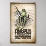 Las ranas para la libertad Triple-saltaron IPA Impresiones