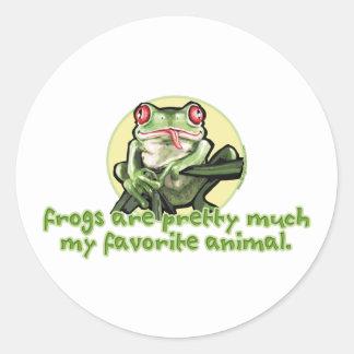 Las ranas son bonitas mucho mi animal preferido P