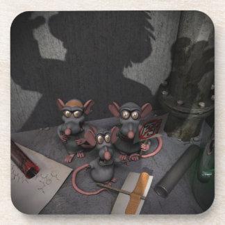 Las ratas del laboratorio unen posavaso