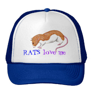 las ratas me aman gorra