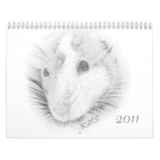 Las ratas son calendario del amor