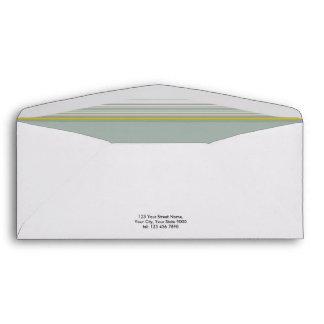 Las rayas grises mínimas modernas elegantes sobres