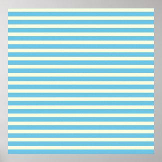 Las rayas horizontales se descoloraron regalo amar posters