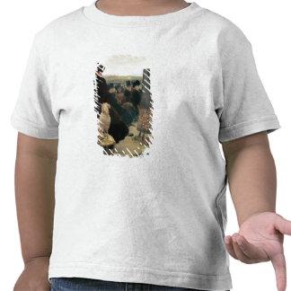 Las razas en Auteuil, parte de un tríptico (aceite Camiseta