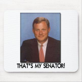 ¡Las rebabas de Richard, de que son mi senador! Alfombrilla De Ratones