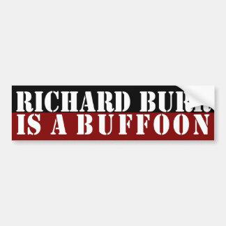 Las rebabas de Richard son pegatina para el parach Pegatina Para Auto
