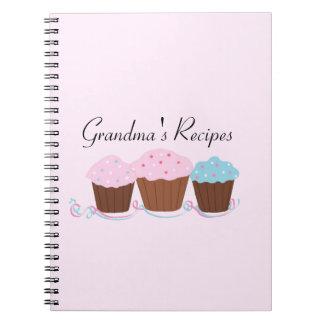 Las recetas de la abuela - magdalenas heladas cuadernos