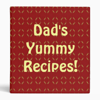 Las recetas deliciosas del papá de la carpeta de l