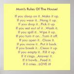 Las reglas de la mamá de la casa impresiones