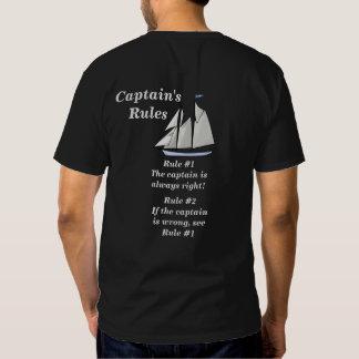 Las reglas de los capitanes playera