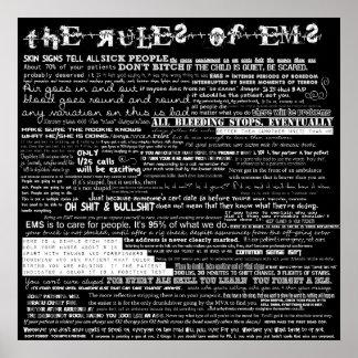 Las reglas del ccsme posters
