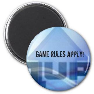 las reglas del juego 1up se aplican imán para frigorifico