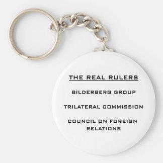 Las reglas reales llaveros personalizados